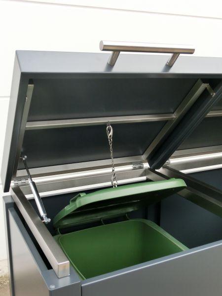 Klappdeckel Mülltonnenbox