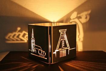 Teelichtlampe-Bochumer-Wahrzeichen